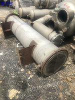 广东广州出售100平方二手换热器、二手离心机、二手反应釜等
