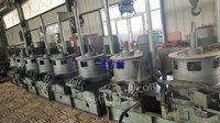 河北沧州出售15台二手链罐拉丝机收线机