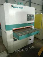 出售二手木工机械设备定尺砂光机木工1米砂光机