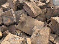 出售优质锯口生铁块,现货100吨,70公分以下,安阳装车,