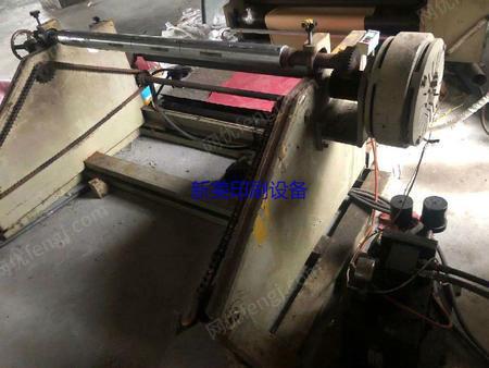 浙江温州出售1台1米2宽热熔胶机