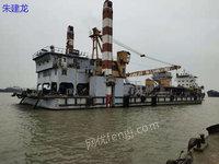 江苏靖江市出售1台工程船