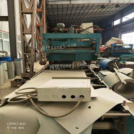 河南南阳出售使用中3-4台820型、900型压瓦机(单层,双层都有) 看货议价,可单卖.