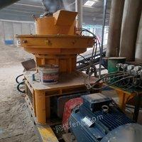 四川凉山彝族自治州因厂房要拆迁, 转让生物质颗粒机,粉碎机,生产线 120000元