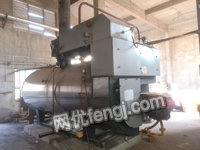 2 tons of 1.25MPa second-hand gas steam boiler transfer