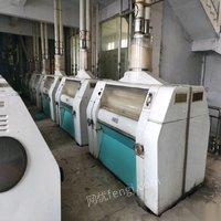 河南郑州出售200吨面粉厂设备,布勒面粉机 100000元