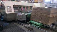 广东地区长期出售二手双色开槽印刷机