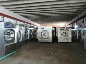 通辽转让二手多台洗衣厂设备二手海狮三辊、四棍烫平机