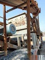 安徽蚌埠经营不善,转让1416轮胎式移动破碎站