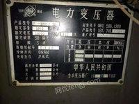 山东潍坊出售S7-1000/10二手电力变压器电议或面议