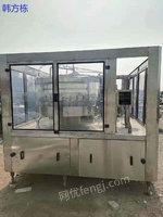 福建福州出售二手灌装机、二手矿泉水生产线
