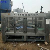 福建南平出售二手灌装机、二手矿泉水生产线