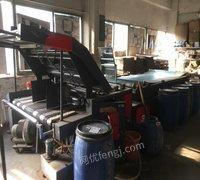 广东广州永邦半自动裱纸机,啤机生产中出售 48888元