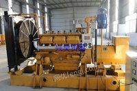 出售二手天然气发电机组  500KW天然气发电机组