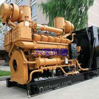 出售二手500KW天然气发电机组