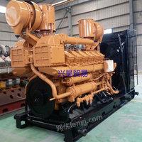 出售二手济柴400kw天然气发电机组 济柴沼气发电机