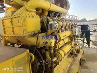 出售二手190系列内混式燃气发动机及发电机组