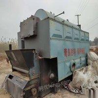 甘肅蘭州出售二手6噸生物質蒸汽鍋爐,16年3月出廠,青島勝利鍋爐