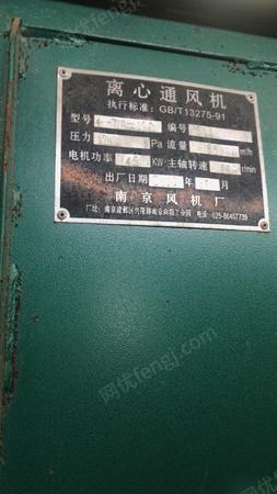 湖北襄阳因为公司发展不需要用这个了 离心通风机出售