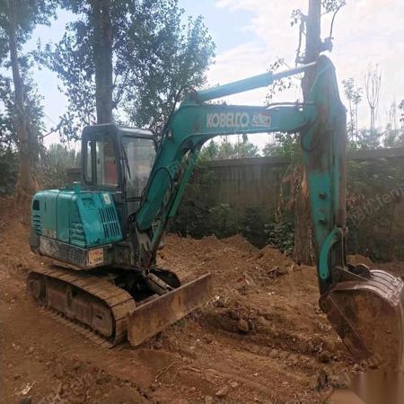 浙江杭州个人一手纯土方车神钢60挖掘机低价出售 7.5万元