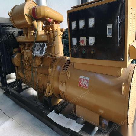 河南郑州二手发电机组低价销售二手300千瓦发电机组原厂原装