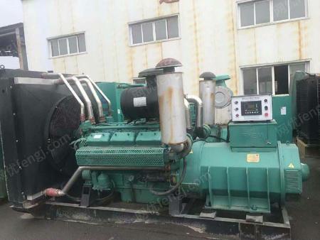 辽宁沈阳急售一台无锡动力700千瓦二手柴油发电机组