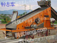 Used vibrating screen, used impact crusher, used grinding equipment for sale