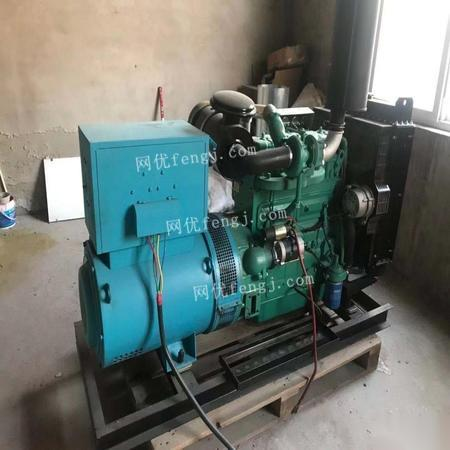 河北衡水一套发电机组 出售15500元