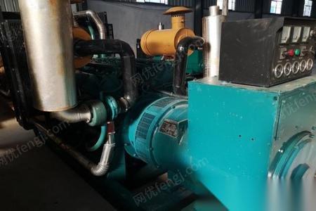 河南郑州二手发电机组低价转让400千瓦柴油发电机组