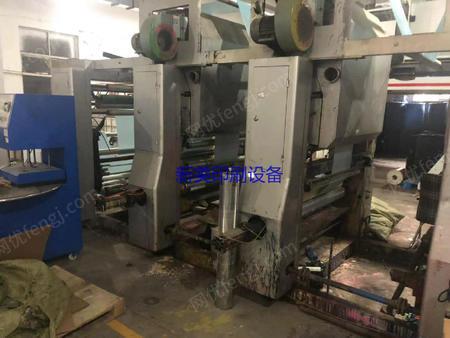 出售国伟1.1米宽6色凹版印刷机
