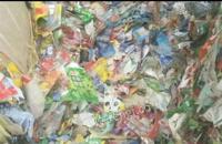 清洗厂长期大量收购标签纸压块,一个月500吨