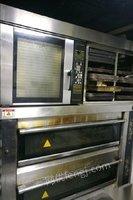 广东珠海出售双层六盘+大理石喷水全自动烤箱+风炉烤箱+车架一体 10000元