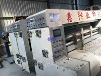 浙江宁波出售1台高速双色印刷圆压圆模切机