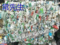 浙江臺州出售60噸通用廢塑料破碎料