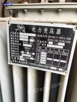 浙江宁波出售2台3相 S11-M-800/10 800kva二手变压设备80000元