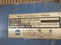 PVC地板层压机4台出售