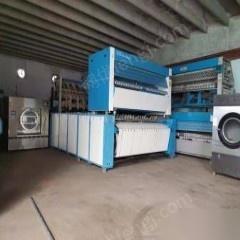 山东菏泽出售二手毛巾折叠机二手折叠机四通道百强17年
