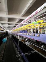 浙江宁波产三合一复合捻线机出售,八九成新,上下二个电机,罗拉用变频控制的