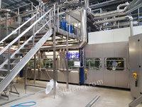 出售二手进口克朗斯无菌冷灌装线产能24000每小时