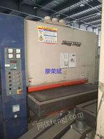 出售二手砂光机 1.3米台湾振萧三砂架砂光机