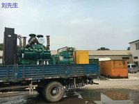 辽宁出售二手800千瓦进口柴油发电机