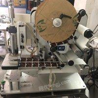 广东深圳便宜转让三台半自动桌面式贴标机,