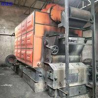 二手2吨燃煤热水锅炉出售
