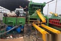 河北石家庄转让一手货华宏全自动315吨金属打包机