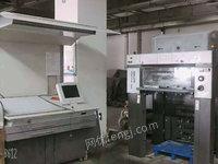 宁夏银川出售1台二手印刷机械电议或面议