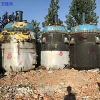 化工厂拆迁处理电加热反应设备 搪瓷储罐系列,聚丙烯设备