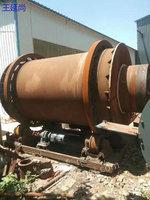 出售一套1.8X18米有机肥烘干机,二手河沙烘干机 配件齐全规格板正