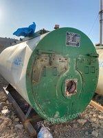 出售2吨天然气蒸汽锅炉