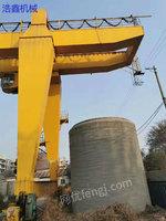 Selling used type A gantry 50 tons span 35 meters