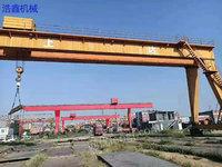 Selling used double main beam gantry crane 32/10 ton, span 29 meters